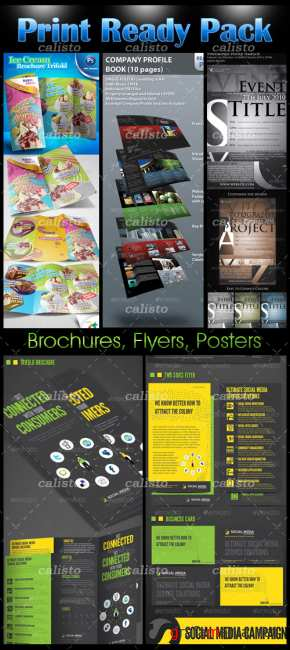 Print Template Pack - GraphicRiver