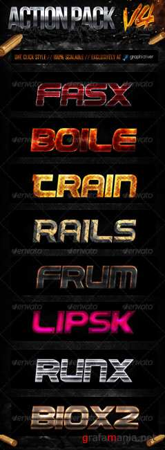 GraphicRiver - Action Style Pack V4