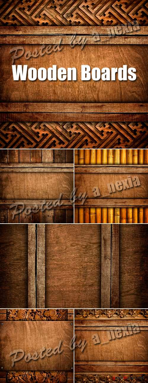 Stock Photo - Old Wood Boards
