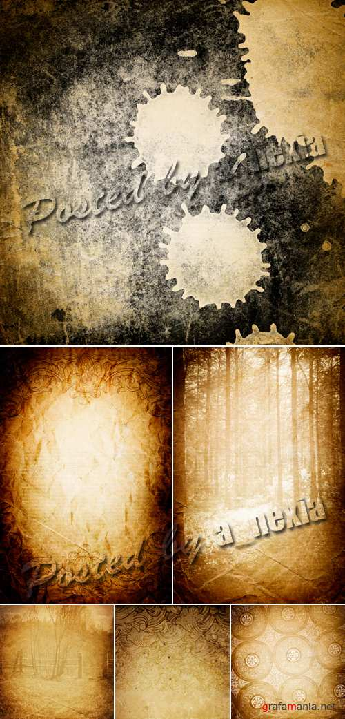 Stock Photo - Vintage Backgrounds 8