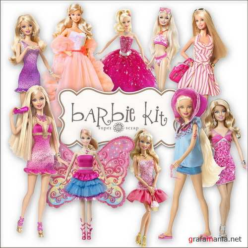 Barbie Dolls Kit