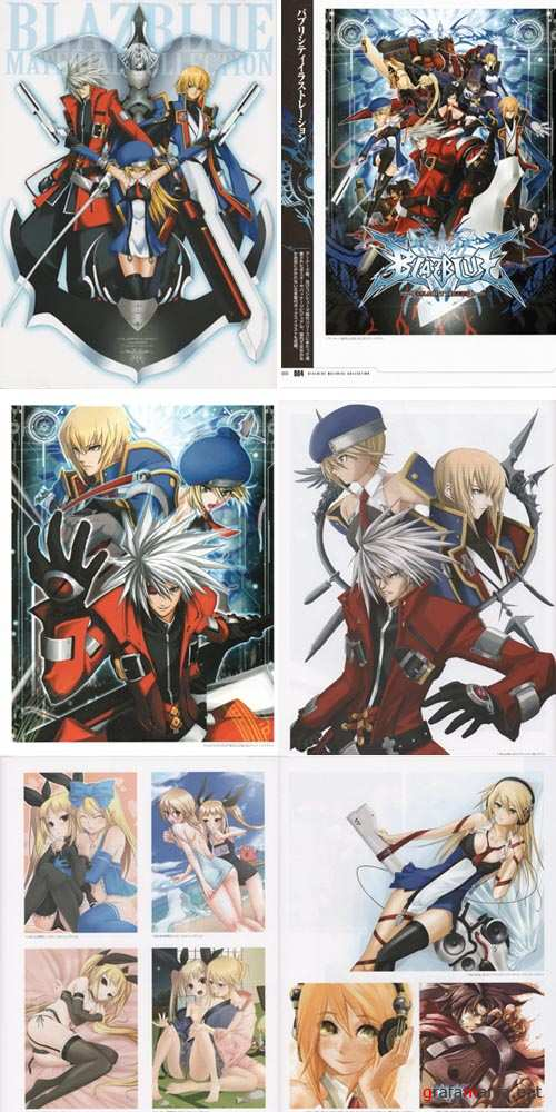 BlazBlue Material Collection [Artbook]