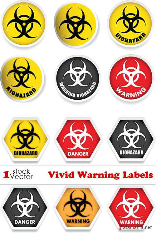 Vectors - Vivid Warning Labels