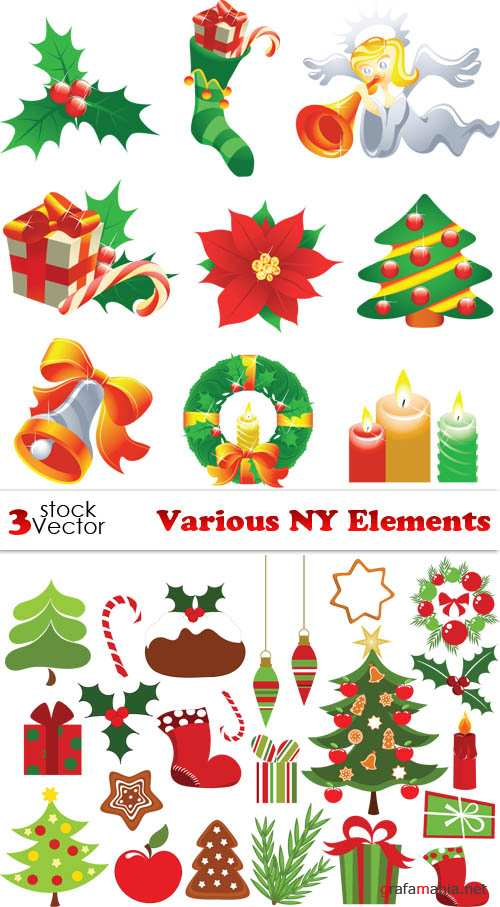 Vectors - Various NY Elements