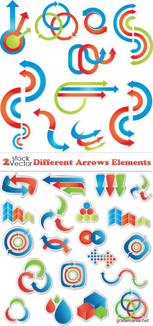 Vectors - Different Arrows Elements