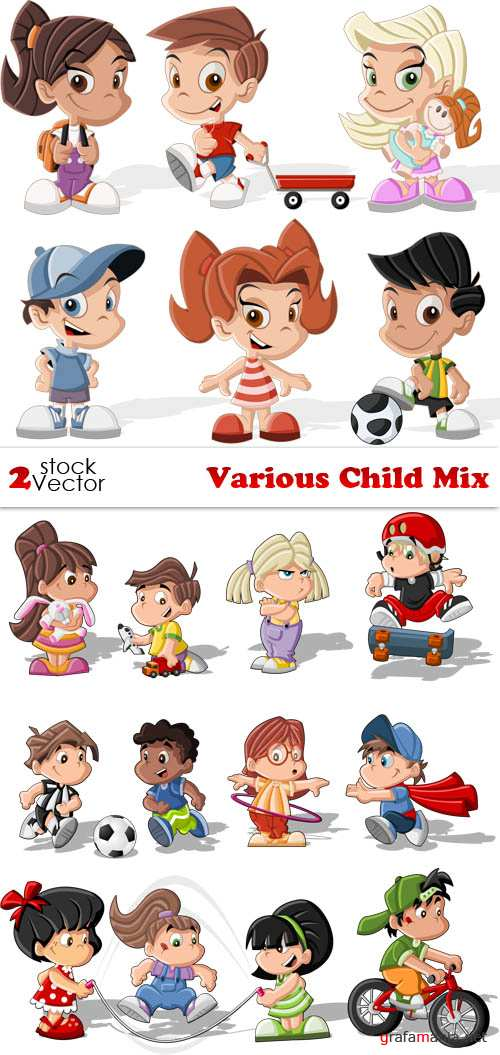 Vectors - Various Child Mix