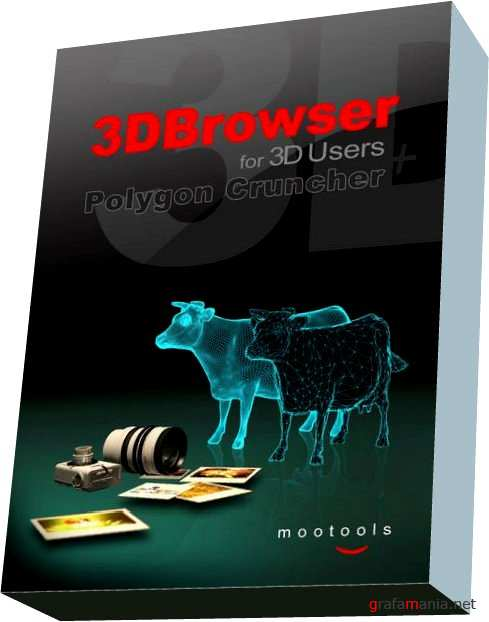 Mootools 3DBrowser for 3D Users with Polygon Cruncher 12.1