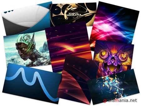 50 Wonderful Colorful Abstract HD Wallpapers (Set 65)
