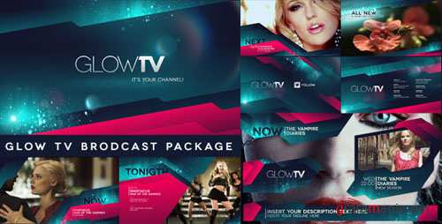 Glow TV Broadcast Package - Project for After Effects (VideoHive)