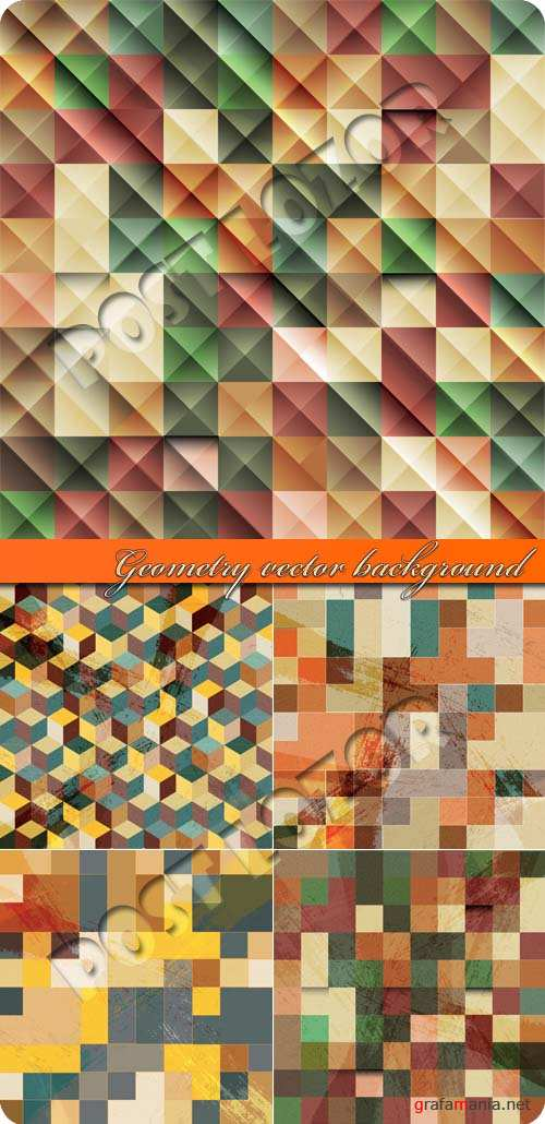 Геометрия фоны | Geometry vector background