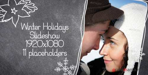 Winter Holidays Slideshow - Project for After Effects (Videohive)