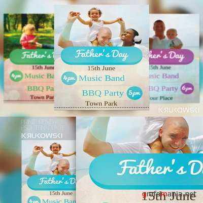 CreativeMarket - Father's Day Flyer - 41847