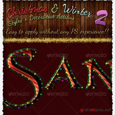 GraphicRiver - Christmas And Winter Styles And Actions 2 - 3336922
