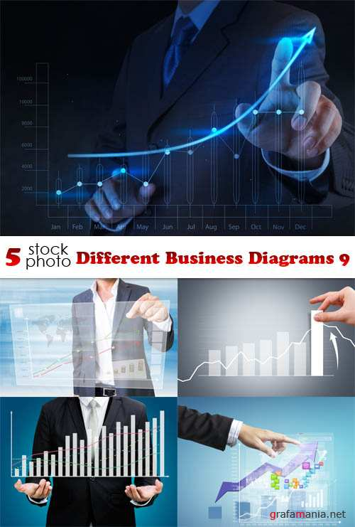 Photos - Different Business Diagrams 9