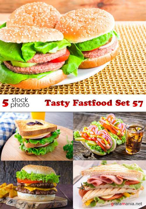 Photos - Tasty Fastfood Set 57