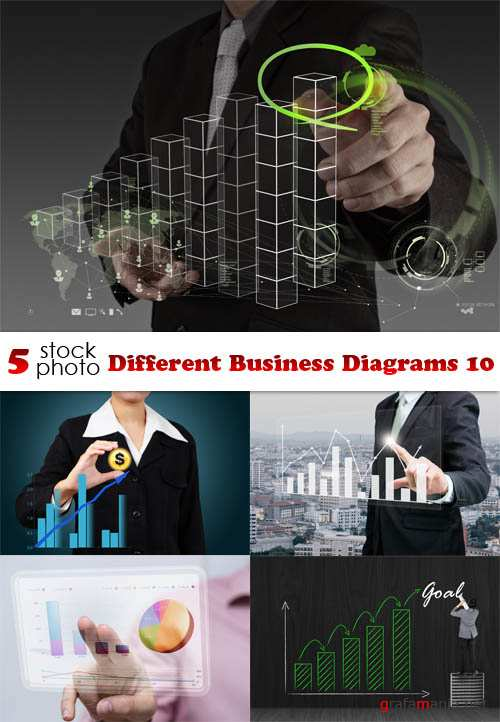 Photos - Different Business Diagrams 10