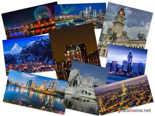 150 Amazing Cityscapes HD Wallpapers (Set 8)