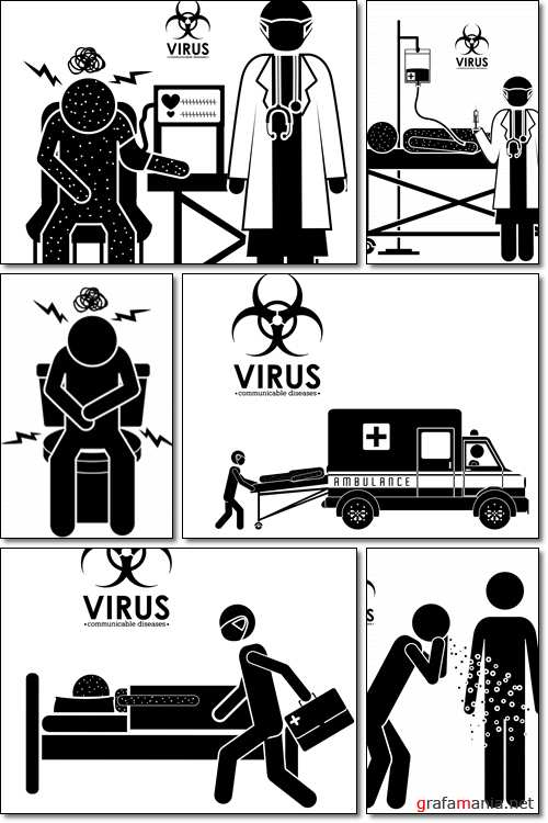 The disease: Virus; infection; organism; bacterial; healthcare  - Vector
