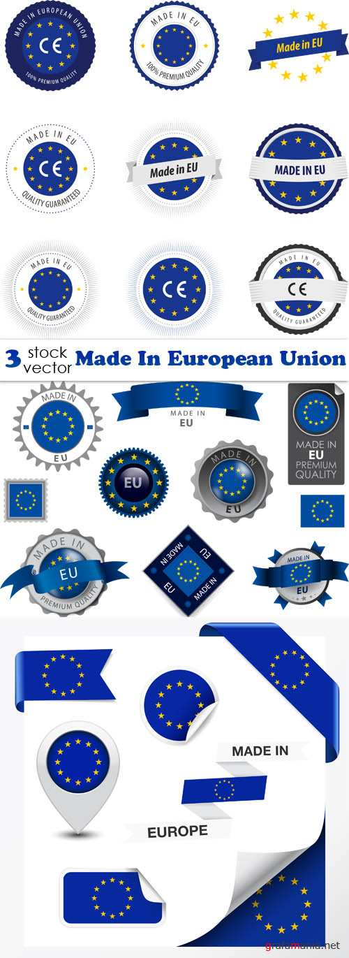 Vectors - Made In European Union