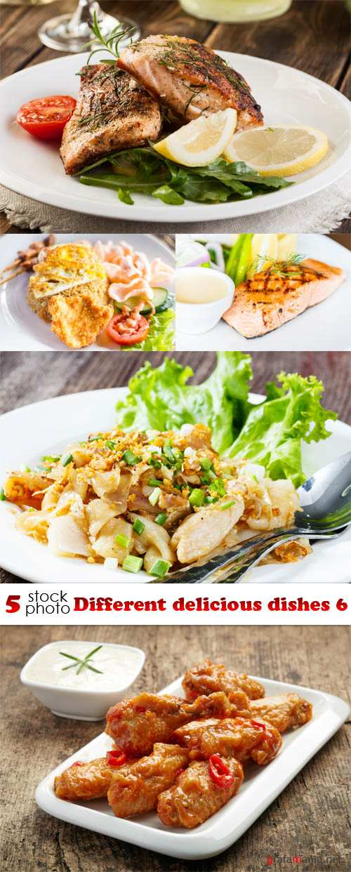 Photos - Different delicious dishes 6