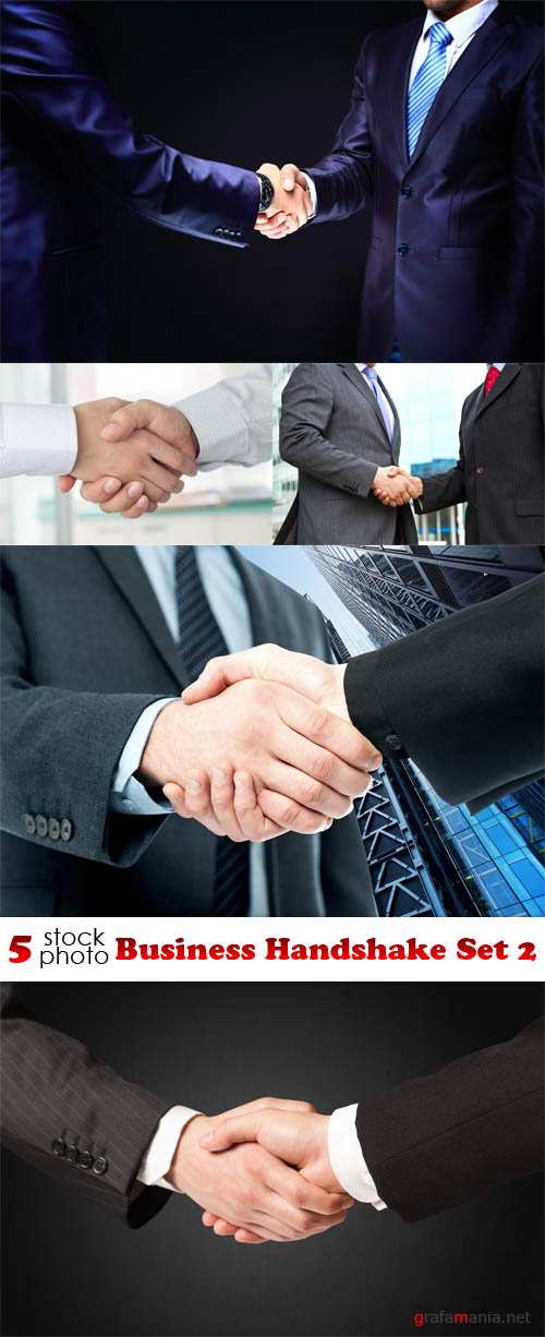 Photos - Business Handshake Set 2