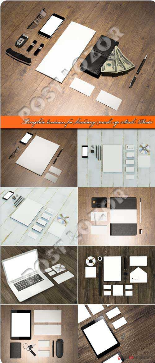 Template business for branding mock up Stock Photo