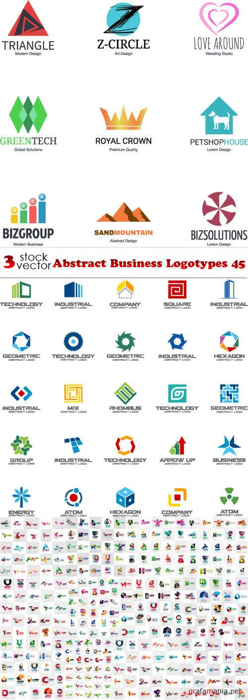Vectors - Abstract Business Logotypes 45