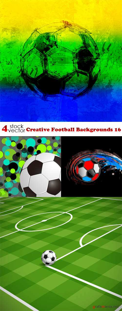 Vectors - Creative Football Backgrounds 16