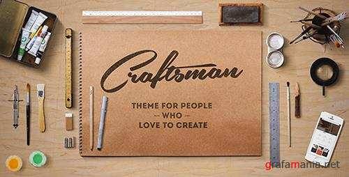 ThemeForest - Craftsman v1.5.2 - WordPress Craftsmanship Theme - 10859297