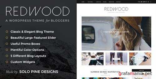 ThemeForest - Redwood v1.3 - A Responsive WordPress Blog Theme - 11811123