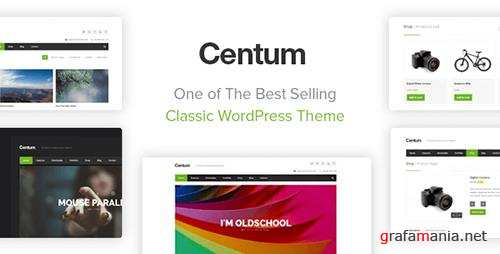ThemeForest - Centum v3.3.2 - Responsive WordPress Theme - 3216603