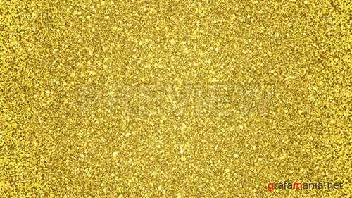 MA - Golden Glitter Background Loop 87460