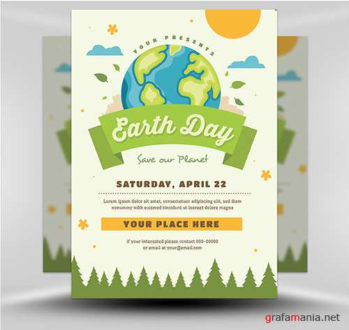 PSD Earth Day Flyer 1