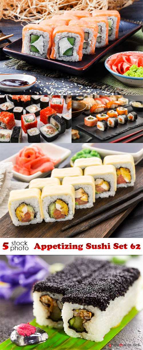 Photos - Appetizing Sushi Set 62