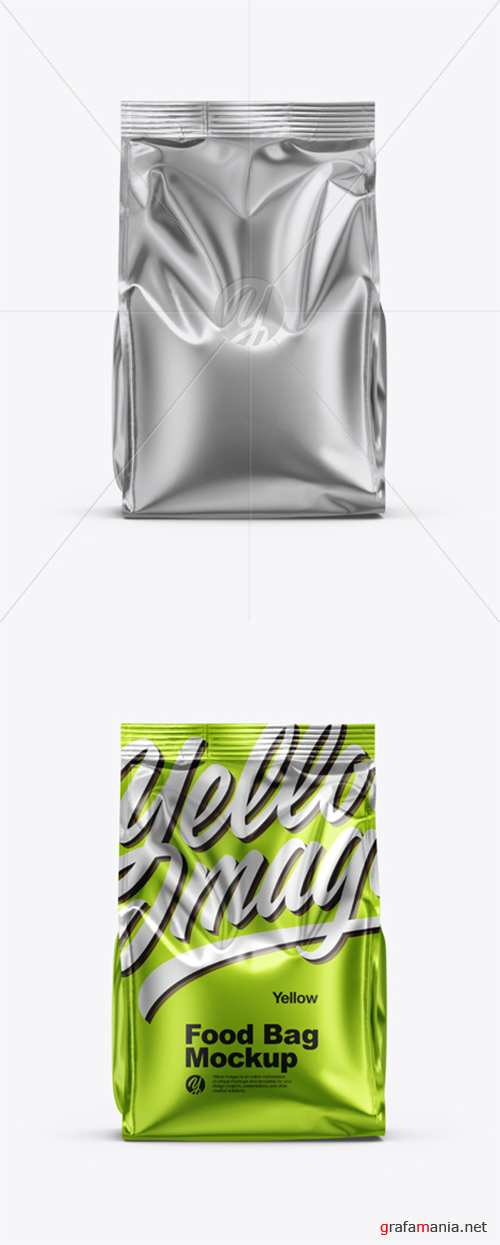 Metallic Food Bag Mockup 35325 TIF