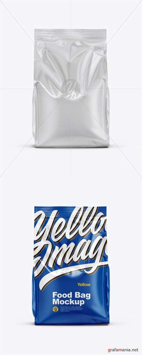 Glossy Food Bag Mockup 35319 TIF