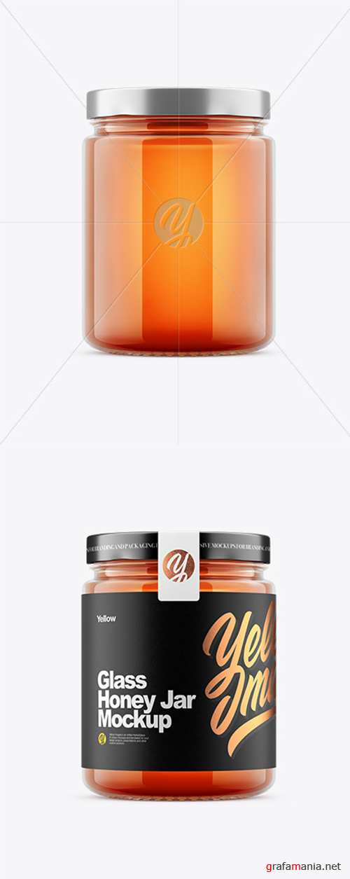 Honey Jar Mockup 45181 TIF