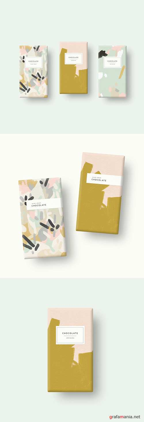 Three Chocolate Bars Mockup 250707267 PSDT