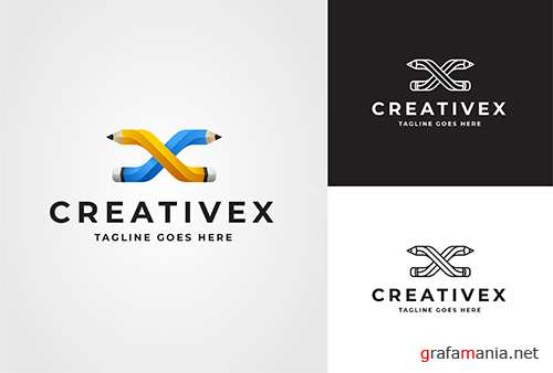 Creativex Logo Vector Template