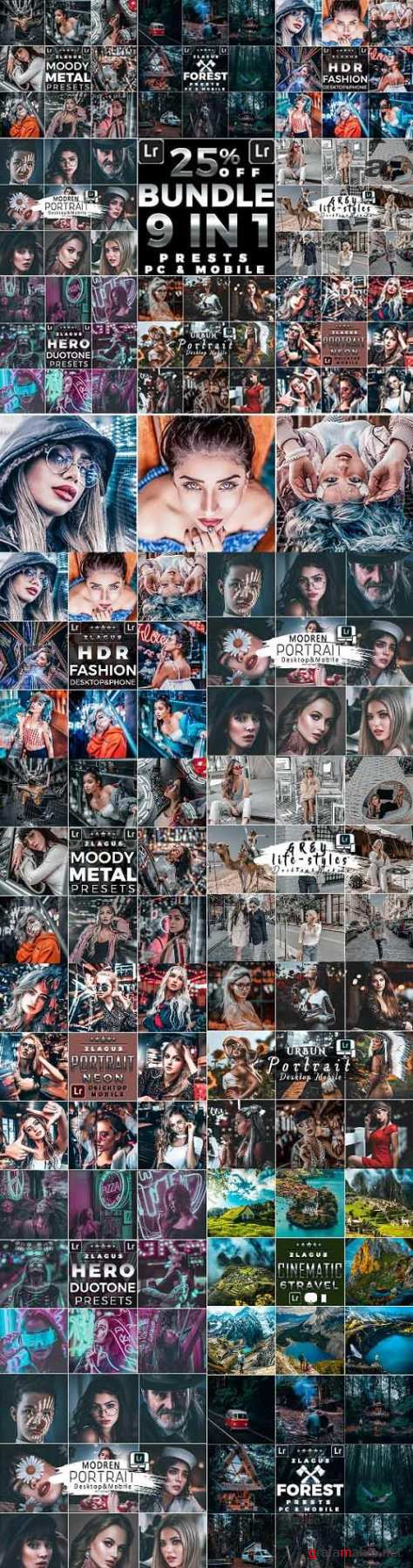 Artistic Collection Bundle Presets (Mobile & Desktop) 26428921