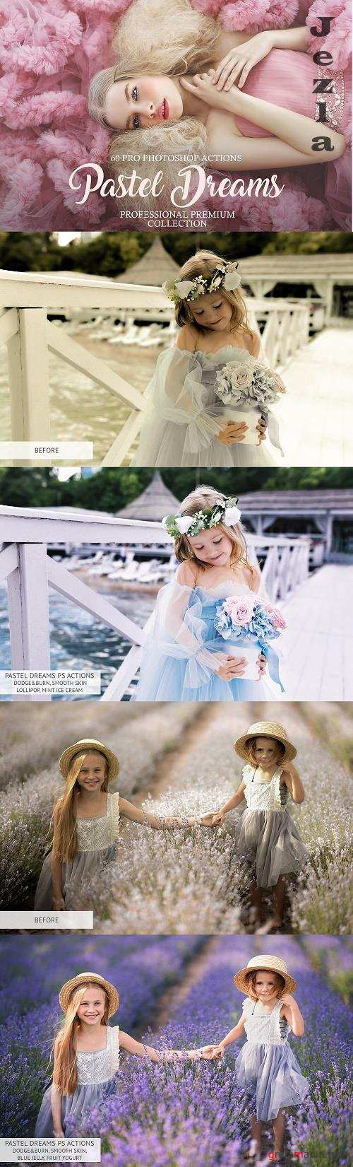 Pastel Dreams Photoshop Actions - 3576799