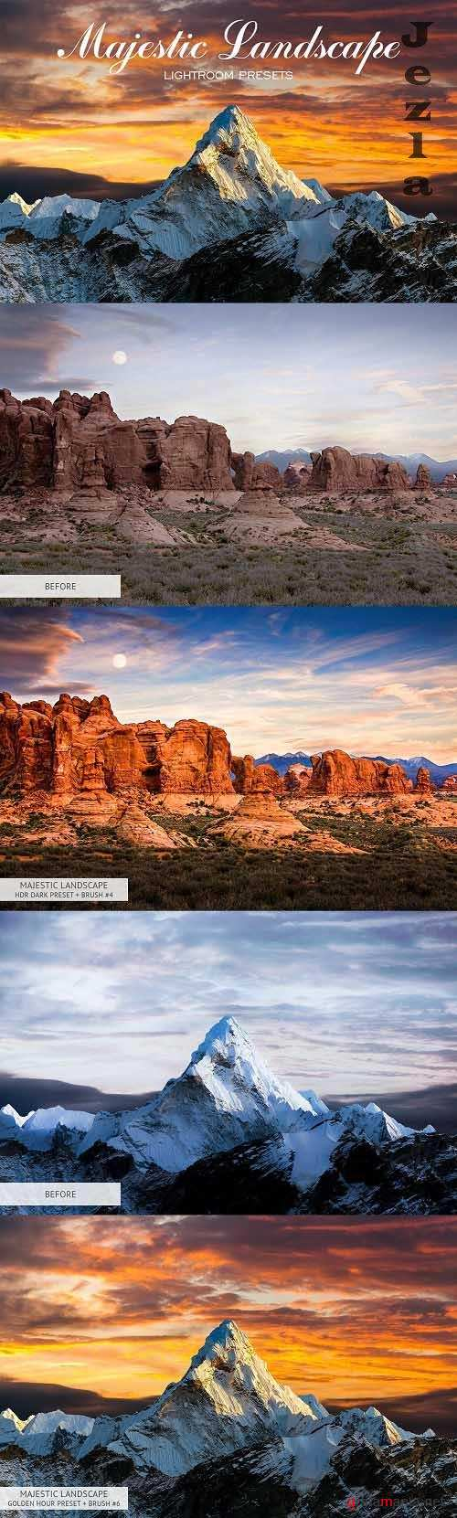 Majestic Landscape Lightroom Presets - 3416059