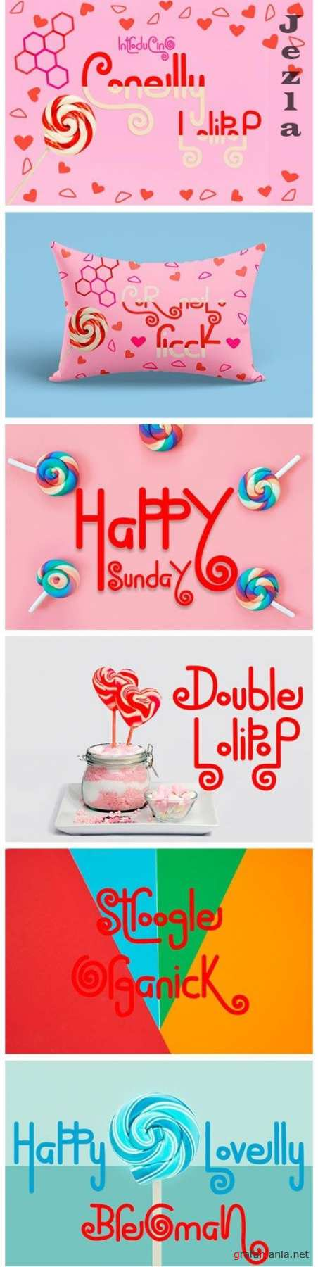 Conelly LolipoP Font