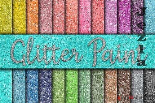 Glitter Paint Digital Paper - 573127