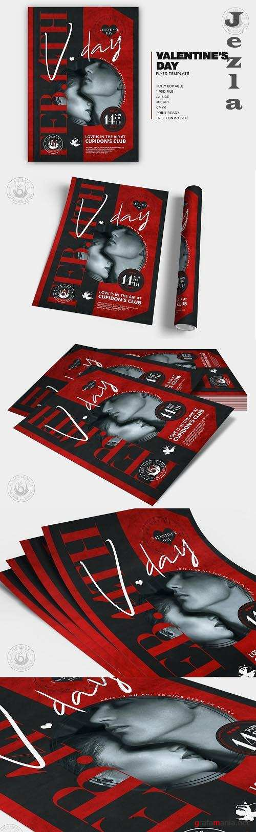 Valentines Day Flyer Template V26 - 5753837