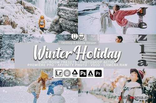 CreativeMarket - Winter Holiday Presets 5698463