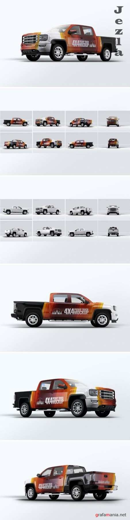Truck 4X4 Mock-Up - HJ43RB3