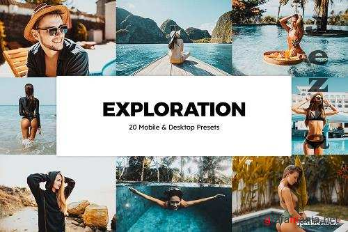 20 Exploration Lightroom Presets - 5835425