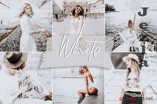 CreativeMarket - White Lightroom Preset Collection 5832687