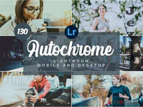 Autochrome Mobile and Desktop Presets